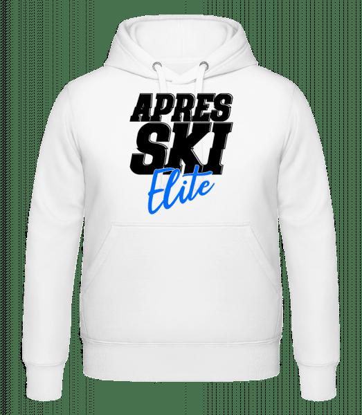 Apres Ski Elite - Mikina s kapucí - Bílá - Napřed