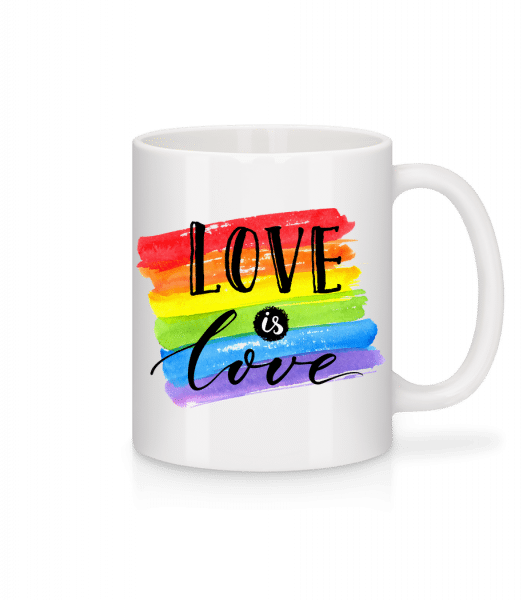 Love Is Love - Mug - White - Vorn