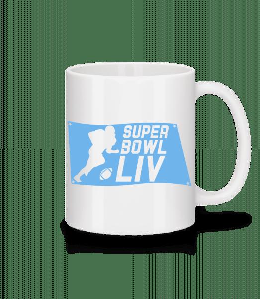Super Bowl flag - Mug - White - Vorn