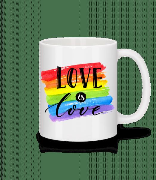 Love Is Love - Mug - White - Vorn