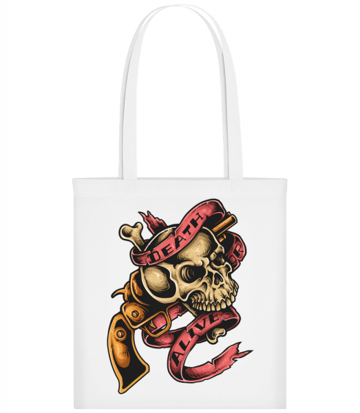 Death Or Alive - Carrier Bag - White - Vorn