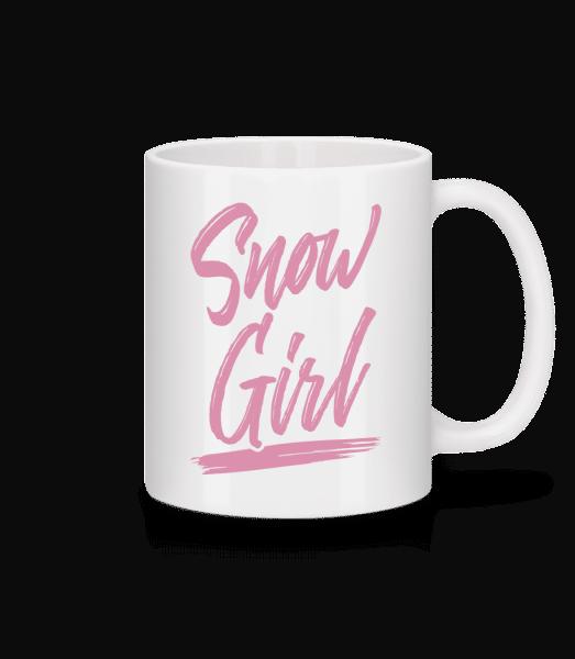 Snow Girl - Mug - White - Vorn