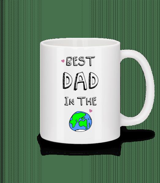 Worlds Best Dad - Tasse - Weiß - Vorn
