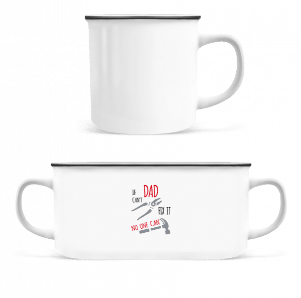 If Das Can't Fix It - Enamel-cup - White - Front