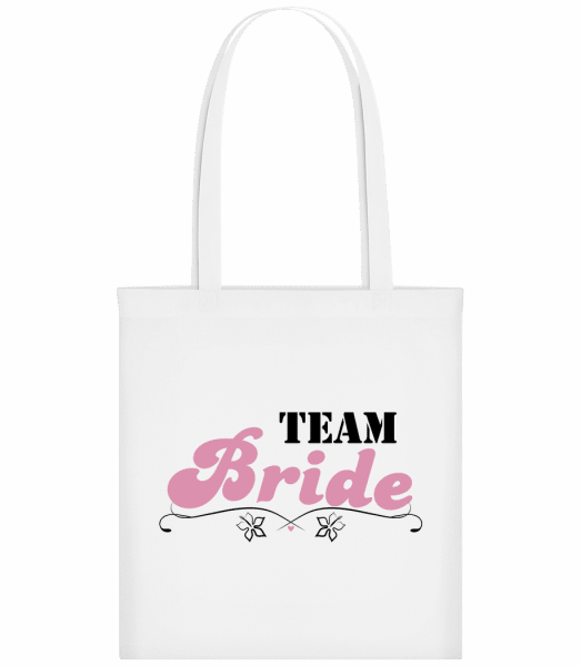 Team Bride - Carrier Bag - White - Vorn