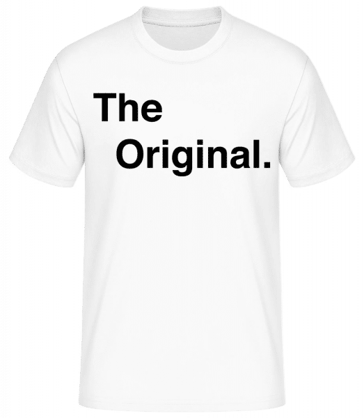 The Original - Basic T-shirt - White - Vorn