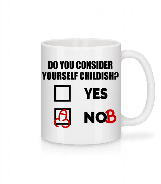 Are You Childish? - Mug - White - Vorn