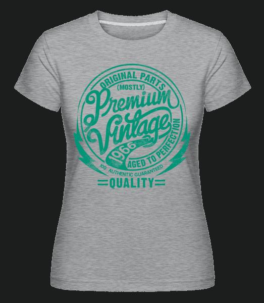 Premium Vintage T-shirt 2 -  Shirtinator Women's T-Shirt - Heather grey - Vorn