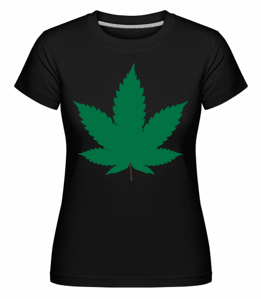 Cannabis -  Shirtinator Women's T-Shirt - Black - Vorn
