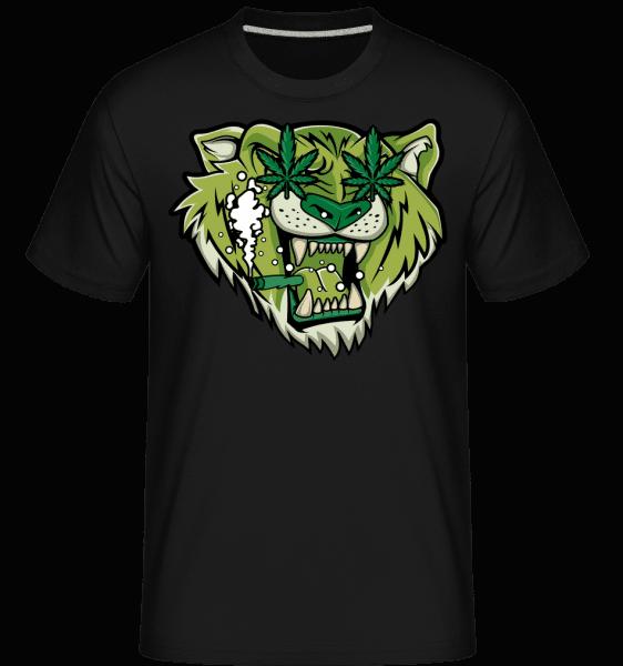 Tiger Weed -  Shirtinator Men's T-Shirt - Black - Vorn