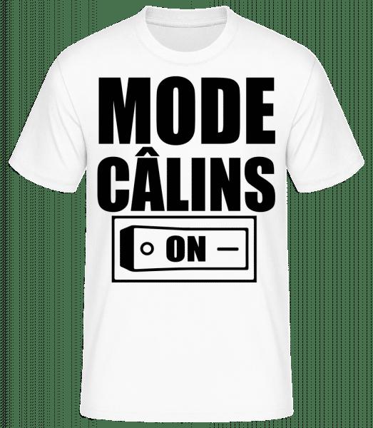 Mode Câlins On - T-shirt standard Homme - Blanc - Vorn