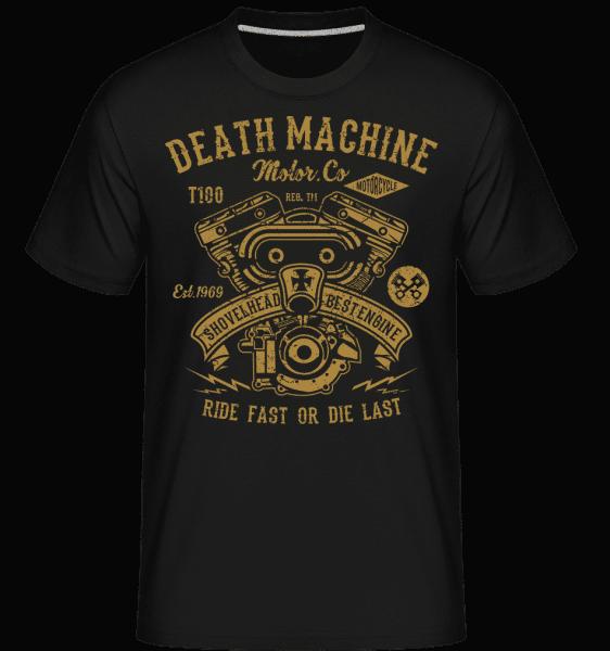 Death Machine -  Shirtinator Men's T-Shirt - Black - Front