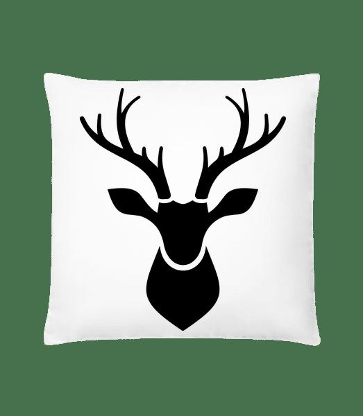Deer Shadow - Cushion - White - Vorn