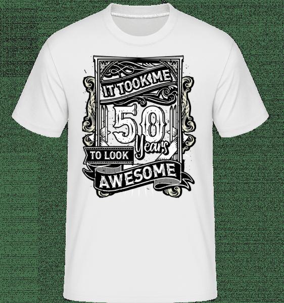 It Took Me 560 Years - Shirtinator Männer T-Shirt - Weiß - Vorn