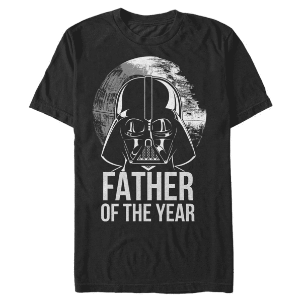 Father of the Year Darth Vader - Star Wars - Men's T-Shirt - Black - Front