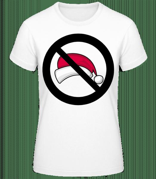 Christmas Forbidden - T-shirt standard Femme - Blanc - Vorn