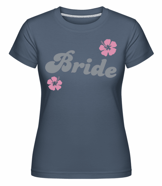 Bride -  Shirtinator Women's T-Shirt - Denim - Front