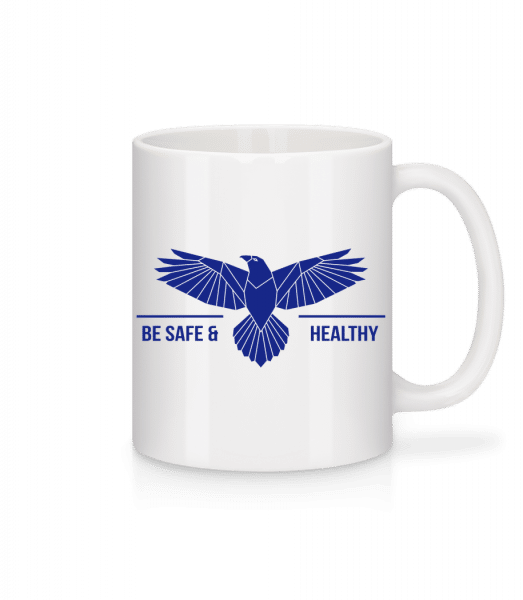Be Safe And Healthy - Mug - White - Vorn