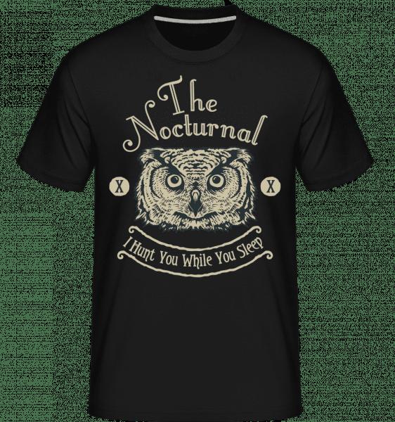 I Hunt You While You Sleep - Shirtinator Männer T-Shirt - Schwarz - Vorn