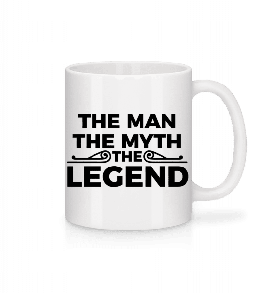 The Man The Myth The Legend - Mug - White - Front