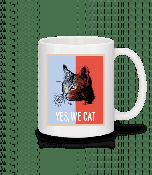 Yes We Cat - Tasse - Weiß - Vorn