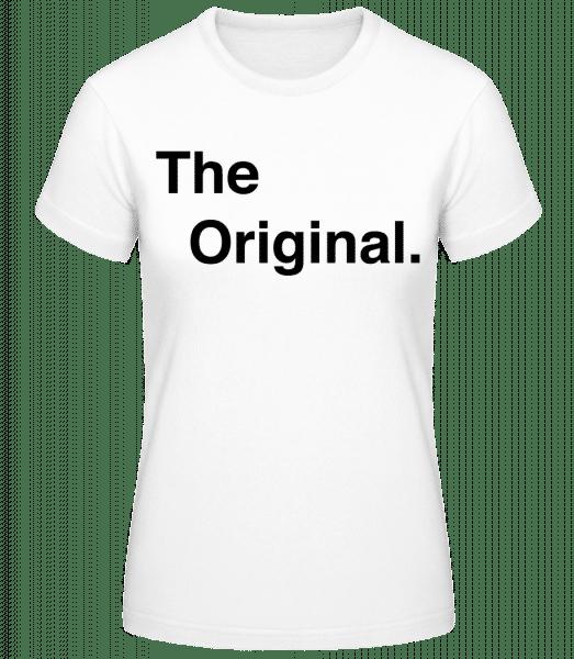 The Original - Basic T-Shirt - White - Vorn