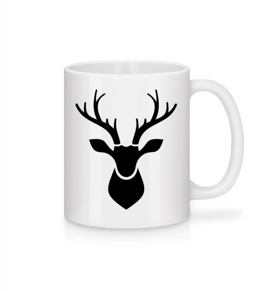 Deer Shadow - Mug - White - Front