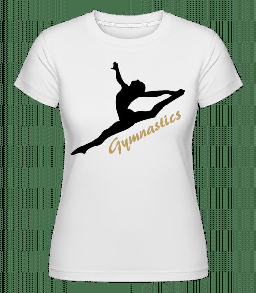 Split Jump Black -  Shirtinator Women's T-Shirt - White - Vorn