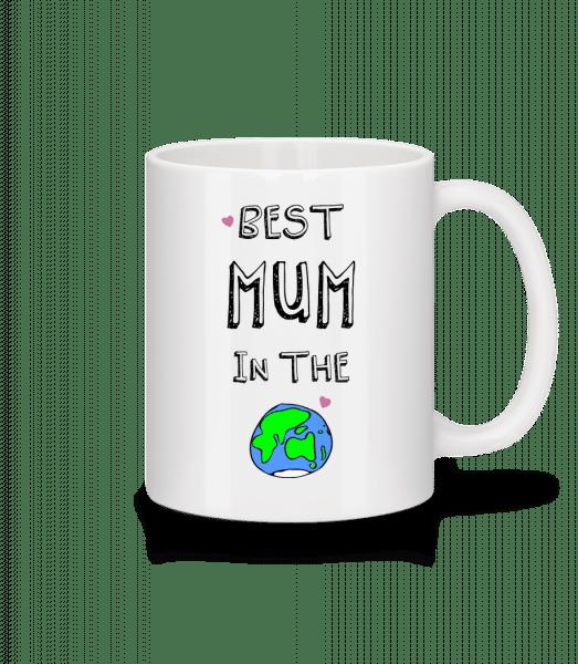 Worlds Best Mum - Tasse - Weiß - Vorn