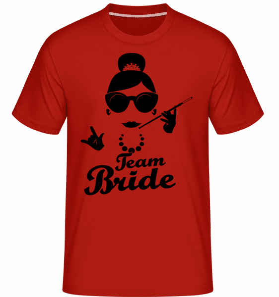 Team Bride -  Shirtinator Men's T-Shirt - Red - Vorn