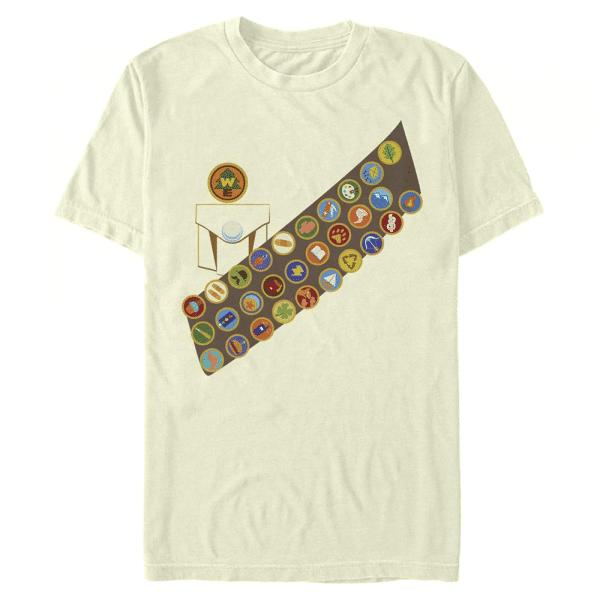 Russell Shirt - Pixar Up - Men's T-Shirt - Cream - Front