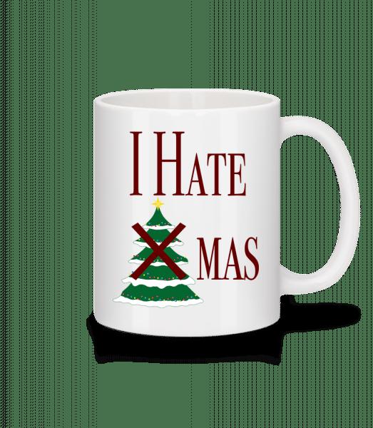I Hate Xmas - Mug - White - Front