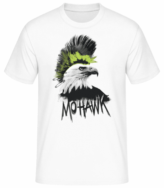 Mohawk - Men's Basic T-Shirt - White - Vorn