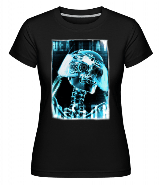 X-Ray Skeleton -  Shirtinator Women's T-Shirt - Black - Vorn