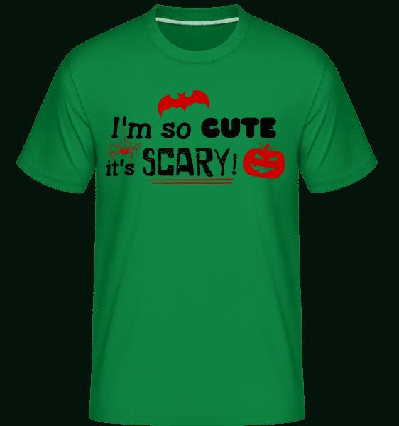 So Cute It's Scary -  Shirtinator Men's T-Shirt - Kelly green - Vorn