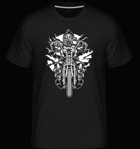 Gasmask Chopper -  Shirtinator Men's T-Shirt - Black - Vorn