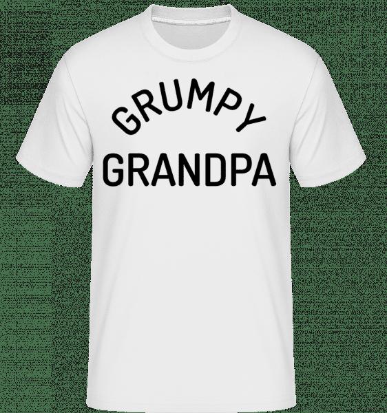 Grumpy Grandpa -  Shirtinator Men's T-Shirt - White - Vorn