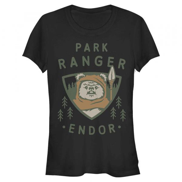 Park Ranger - Star Wars - Women's T-Shirt - Black - Front