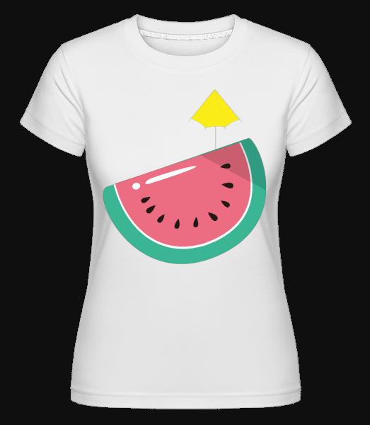 Sun Melon -  Shirtinator tričko pre dámy - Biela - Predné