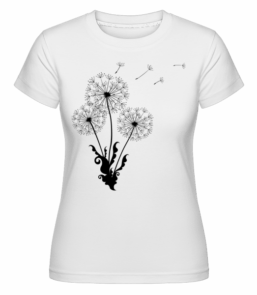 Dandelion Comic -  Shirtinator Women's T-Shirt - White - Vorn