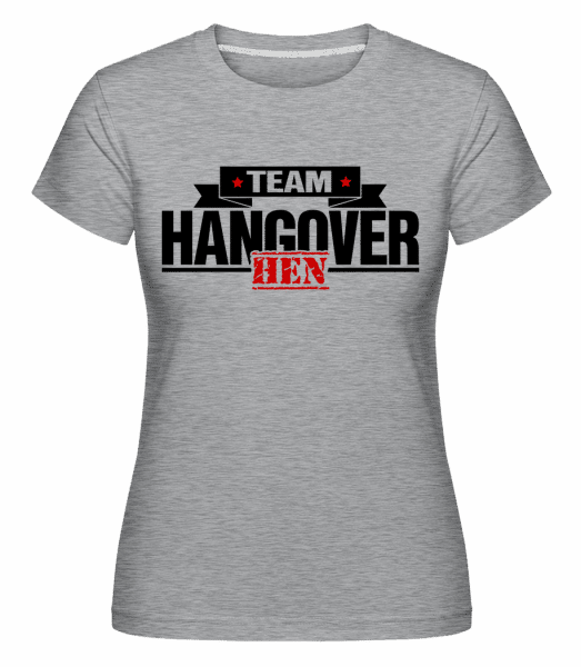 Team Hangover -  Shirtinator Women's T-Shirt - Heather grey - Vorn
