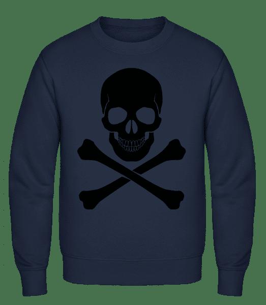 Skull And Bones - Classic Set-In Sweatshirt - Navy - Vorn