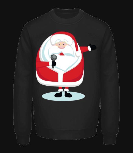Singing Santa - Unisex Sweatshirt - Black - Vorn