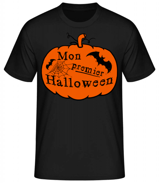 Mon Premier Halloween - T-shirt standard Homme - Noir - Vorn
