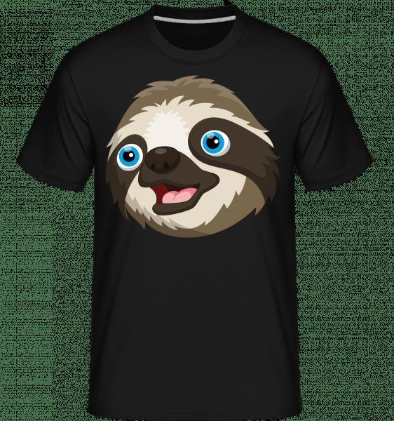 Cute Sloth -  Shirtinator Men's T-Shirt - Black - Front