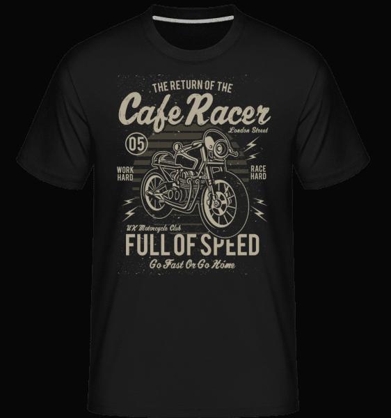Cafe Racer -  Shirtinator Men's T-Shirt - Black - Front
