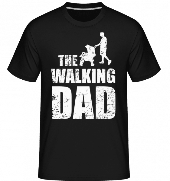 The Walking Dad -  T-Shirt Shirtinator homme - Noir - Vorn