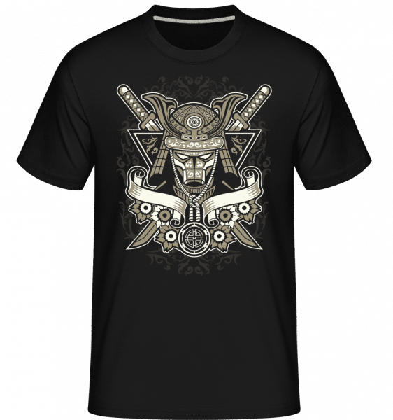 Samurai -  Shirtinator Men's T-Shirt - Black - Front