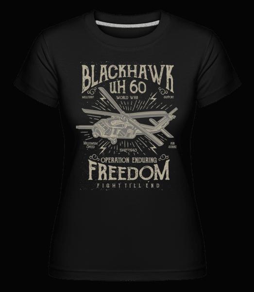 Blackhawk -  Shirtinator Women's T-Shirt - Black - Front