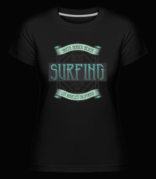 Best Surfing -  Shirtinator Women's T-Shirt - Black - Vorn